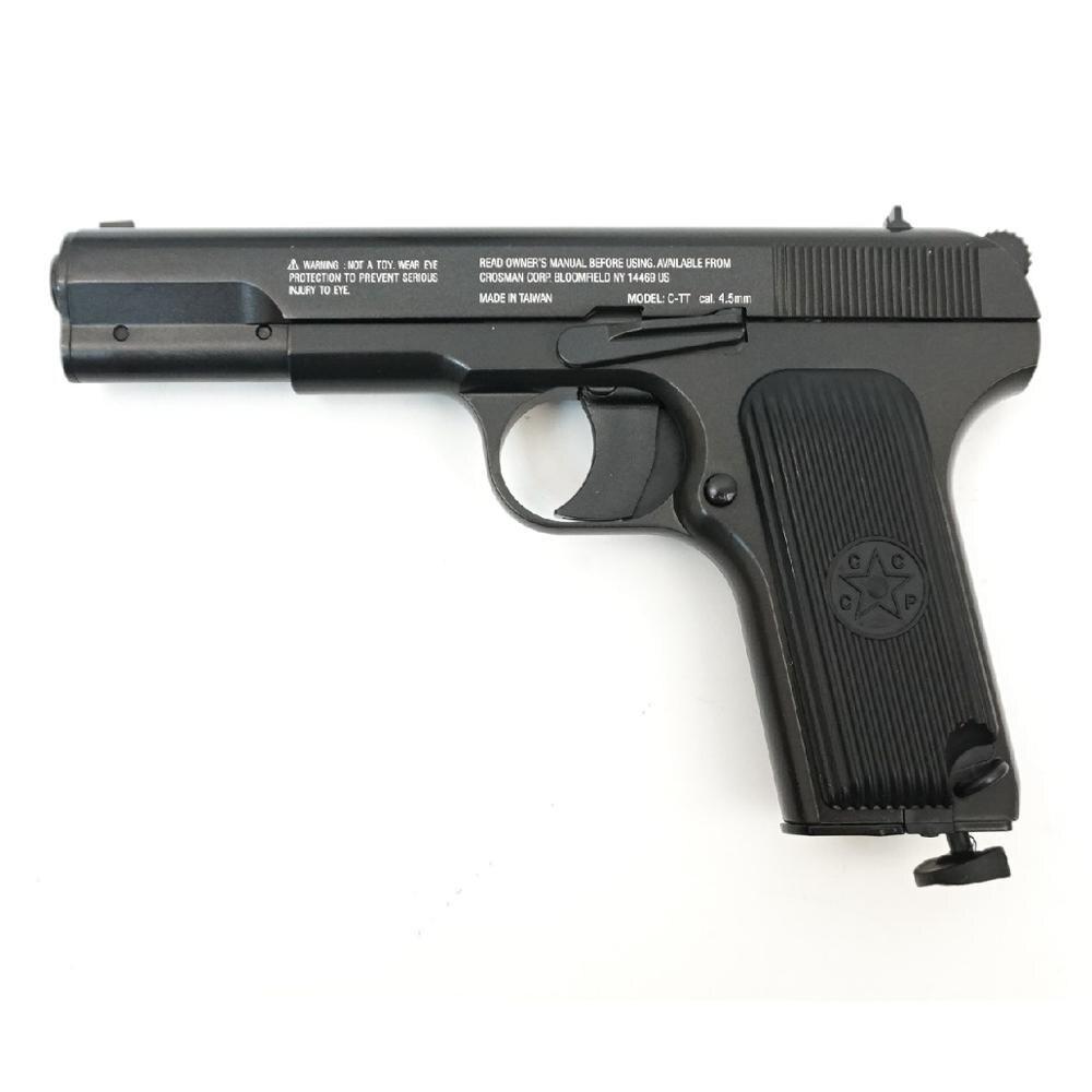 Пистолет Crosman C TT  (Копия ТТ / корпус: металл, пластик)|Игрушечное оружие|   | АлиЭкспресс