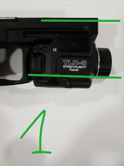 -- Vermelho Pistola Tactical