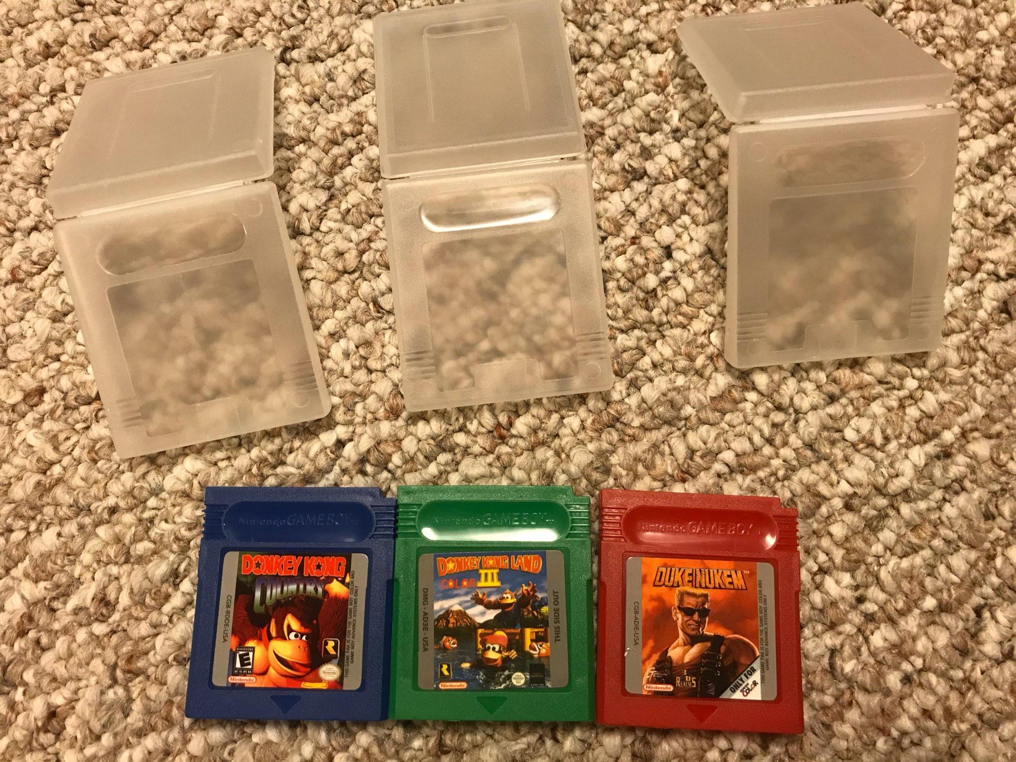 For Nintendo GBC Video Game Cartridge Console Card Duke Nukem English Language Version photo review