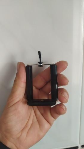 Soporte 1/4 Movil Camara Universal Extensible para Tripode Adaptador Monopod Adapter Negro para Samsung Xiaomi Huawei