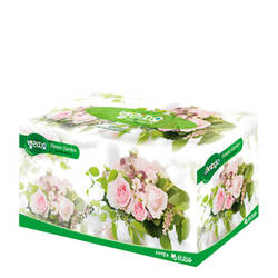 Салфетки для лица Monalisa Bellagio Flower Garden Facial Tissue 200 шт.