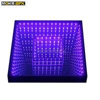 40pcs/lot 3D Mirror Dance Floor RGB 3in1 Light Up Tile Floor Waterproof Dj Floor for Wedding Entertainment Theater