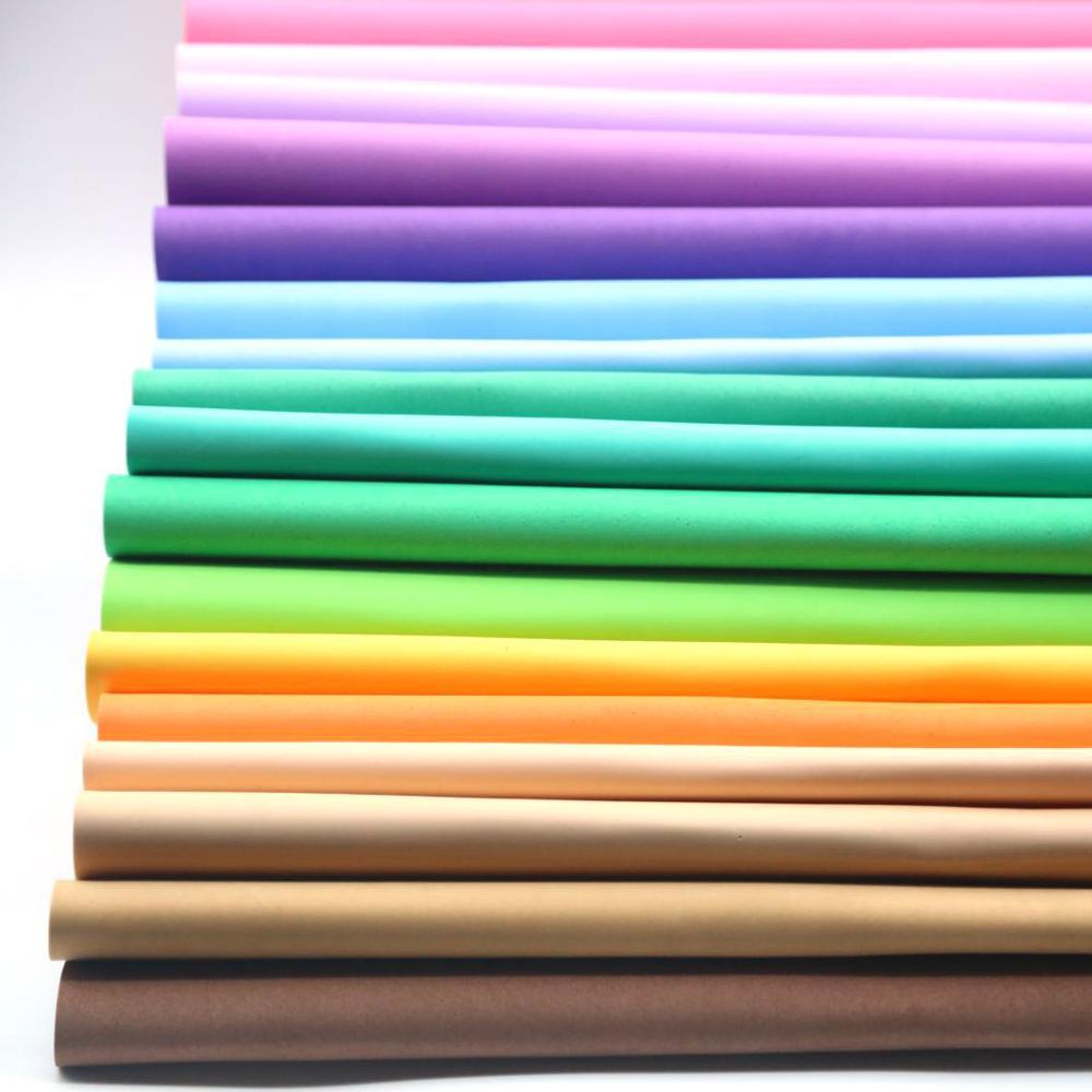20 Pc EVA RUBBER 40x60cm 2mm Foam Paper DIY Material From Artesainia Paper Eva Craft Multicoloured