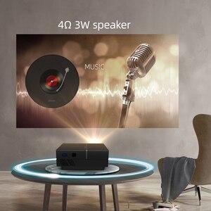 Image 5 - BYINTEK K8 Mini LED แบบพกพา1080P 150นิ้วโฮมเธียเตอร์โปรเจคเตอร์ดิจิตอลสำหรับ3D 4K Cinema (อุปกรณ์เสริม Android 10กล่องทีวี)