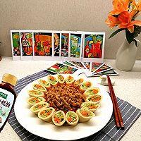 #百变鲜锋料理#年夜饭上一道创新版,团圆美满的~京酱肉丝的做法图解9