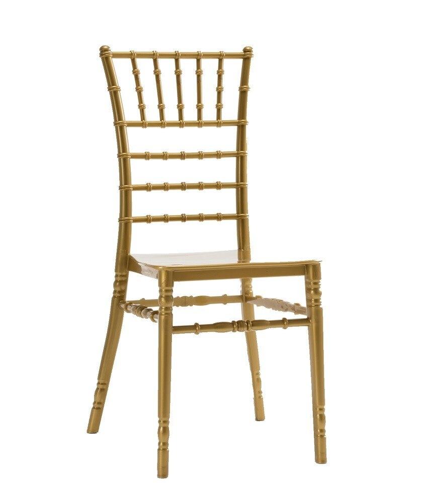 CHIAVARI chair NEW  polypropylene Golden|  - title=
