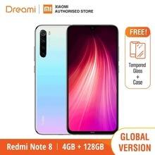 Globale Version Redmi Hinweis 8 128GB ROM 4GB RAM (Marke Neue und Versiegelt), note8 128gb Smartphone Mobile