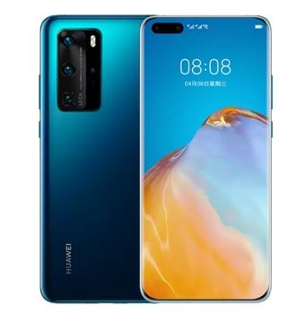 Оригинальный Huawei P40 Pro 5G мобильный телефон 6,58 дюймов OLED экран 8GB + 256GB смартфон 50MP + 32MP 4200 мА/ч, Kirin 990 Android 10