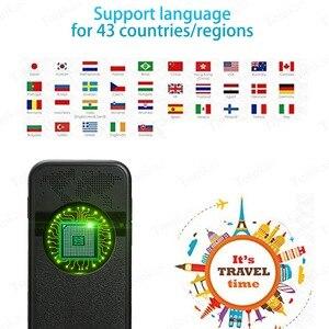 Image 4 - TOMKAS נייד חכם קול מתורגמן 2.4 אינץ מגע מסך WiFi עבור Travelling תמונה תרגום רב שפה מתרגמים