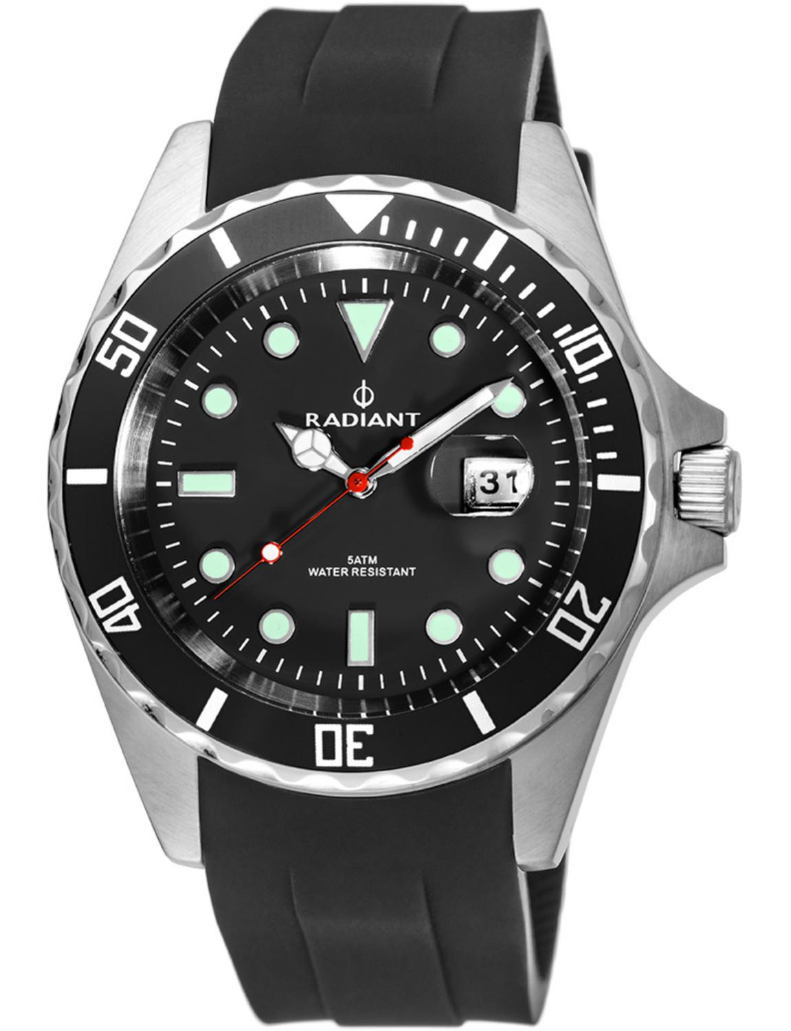 Man Watch Radiant Analog Ra410601 (40mm)