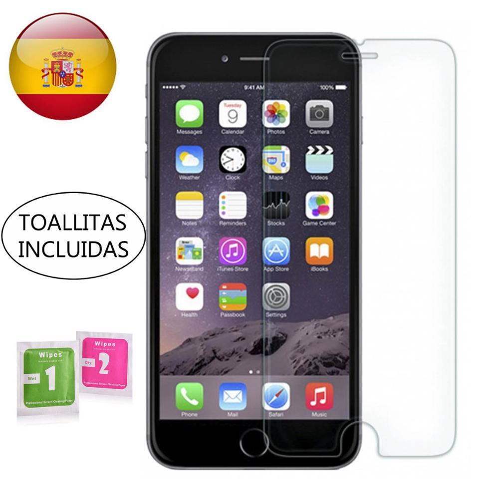 Tempered Glass LCD Cover Screen Protector Vidrio 9H For Apple IPhone 6 6S