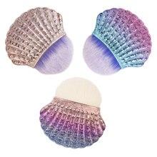 CYSHMILY 3 colors New arrive Shiny Glittering Soft shell shape Women Na