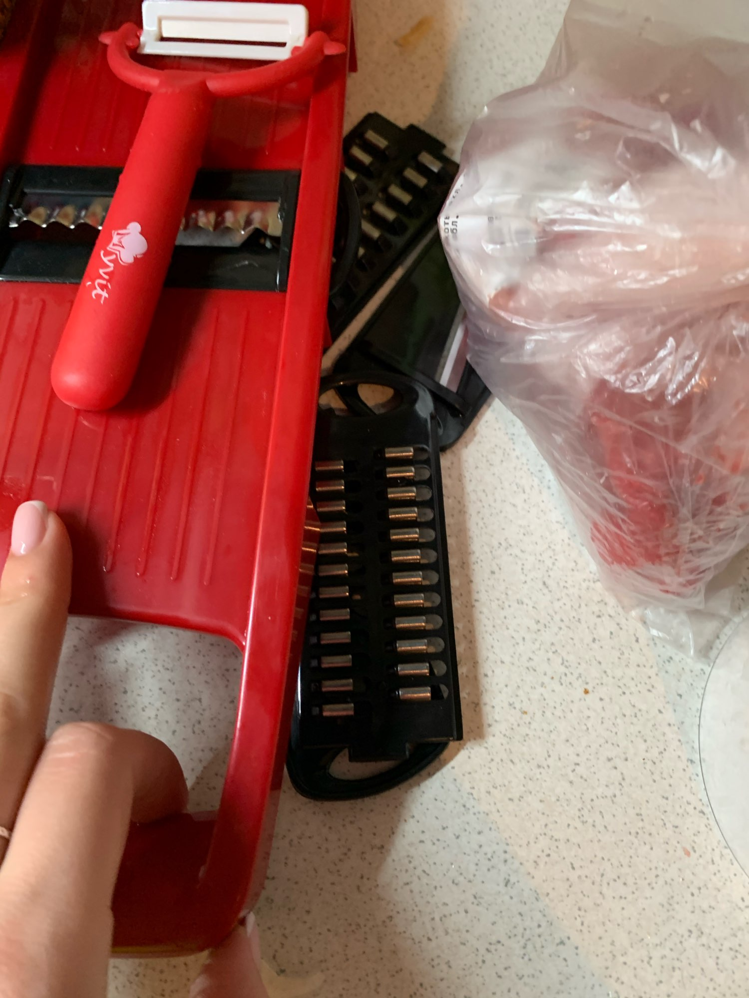 Vegetable Cutter With Steel Blade Mandoline photo review