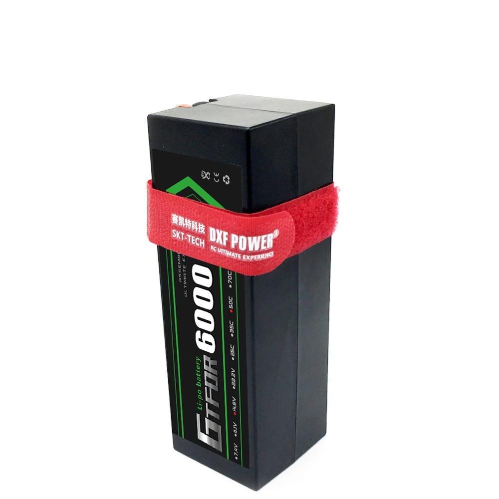 gtfdr lipo 4s bateria 14 8 v 6000mah 50c deans t caso duro para trx buggy
