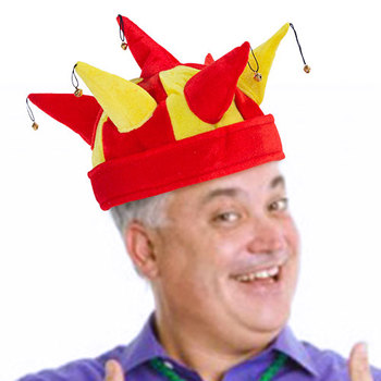 Jester Hat With 7 Rattles Spanish Flag