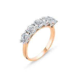 Silver 925 Sterling Zircon Dibs Ring()