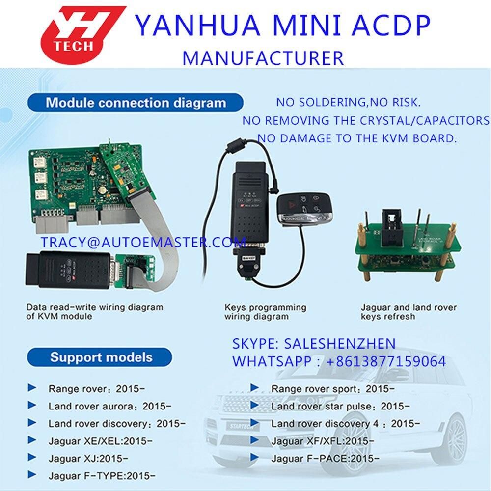 land rover wiring diagram key free shipping yanhua mini acdp programming master set for new land  free shipping yanhua mini acdp