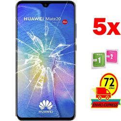 5x Protectors Screen szkło hartowane dla HUAWEI MATTE 20 (nie pełne patrz informacje)