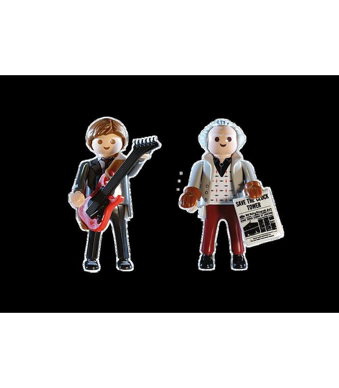 Playmobil 70459 Back To The Future Marty Mcfly AND Dr. Emm Toy Store