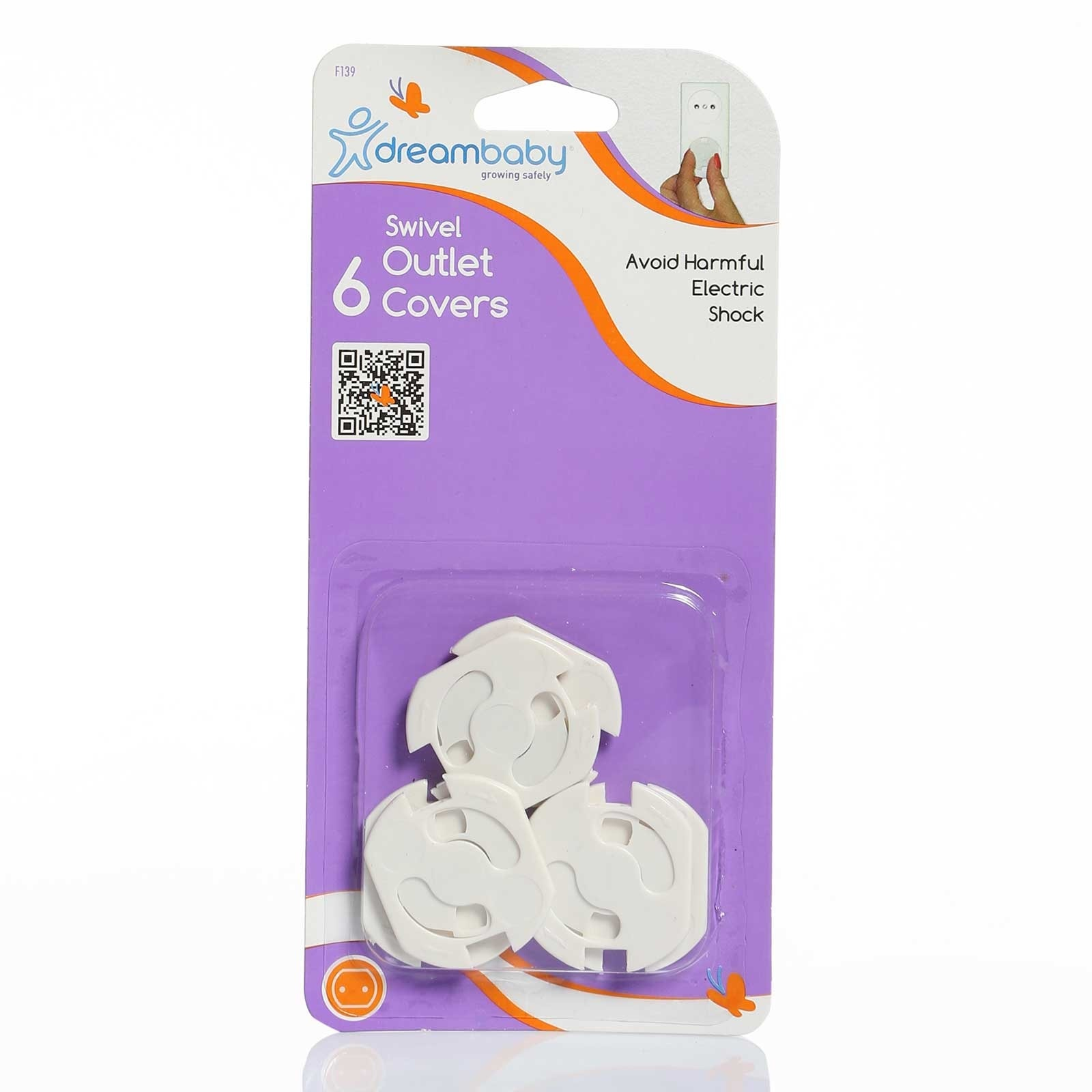 Ebebek Dreambaby F139 Swivel Outlet Covers