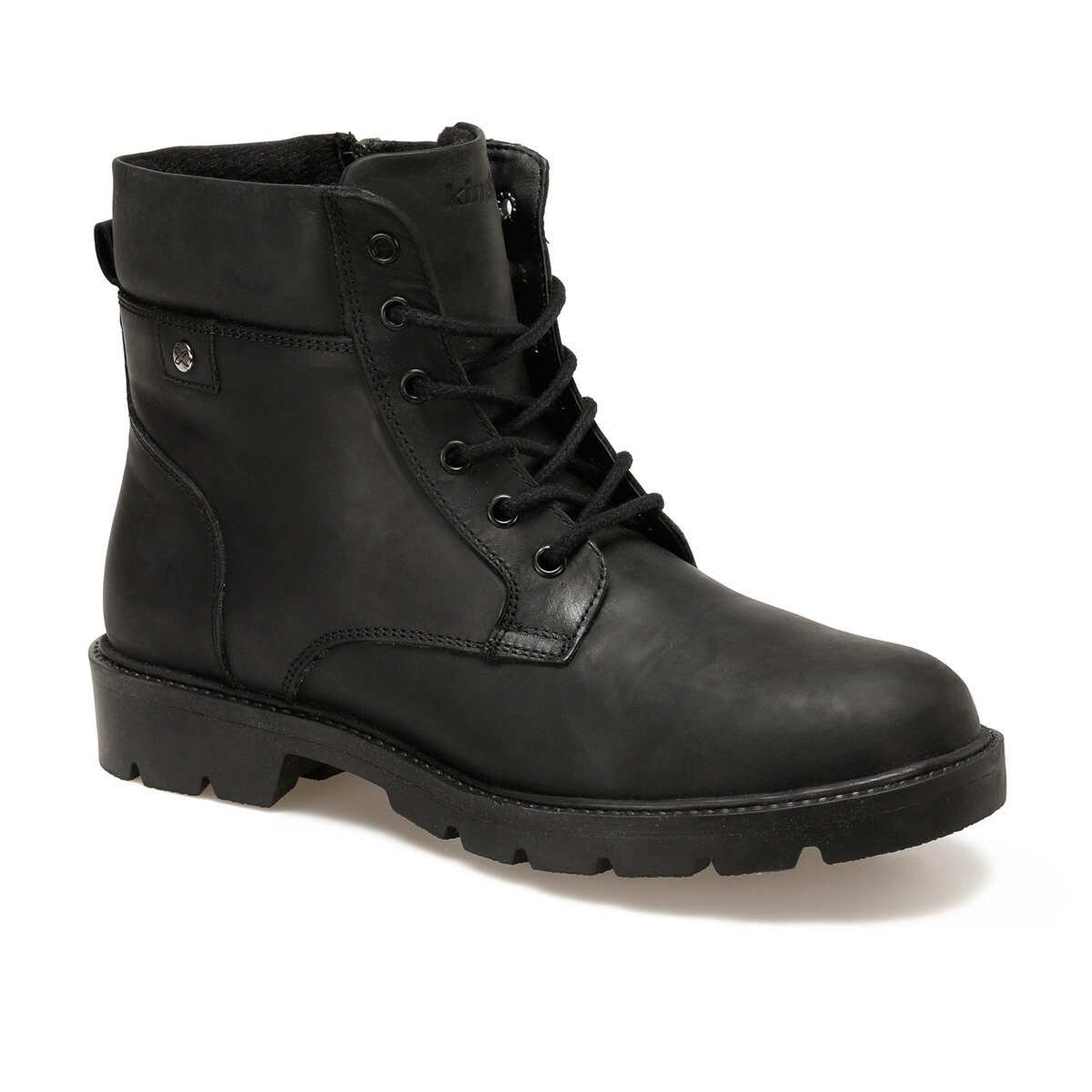 FLO BENTLEY 9PR Black Men Boots KINETIX