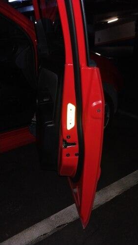 4Pcs Reflective Tape Door Sticker photo review