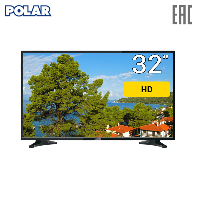 LED Television POLAR P32L32 Consumer Electronics Home Audio Video Equipments TV audio video cable buro 485559 consumer electronics accessories