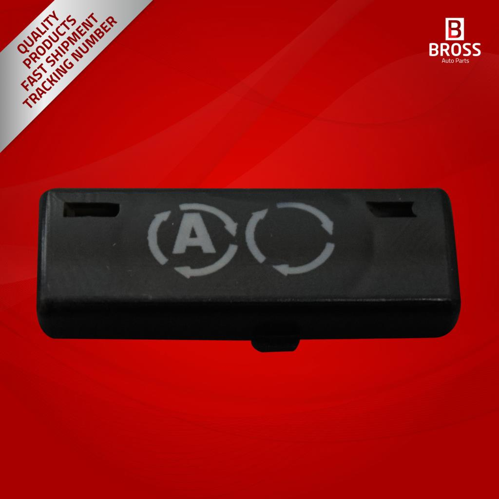 BDP88-9 1 Stuk Heater Climate Control Airconditioning Switch Knop Cover #9 Voor 5 Serie X5 E53 2000- 2007 E39 1995-2003