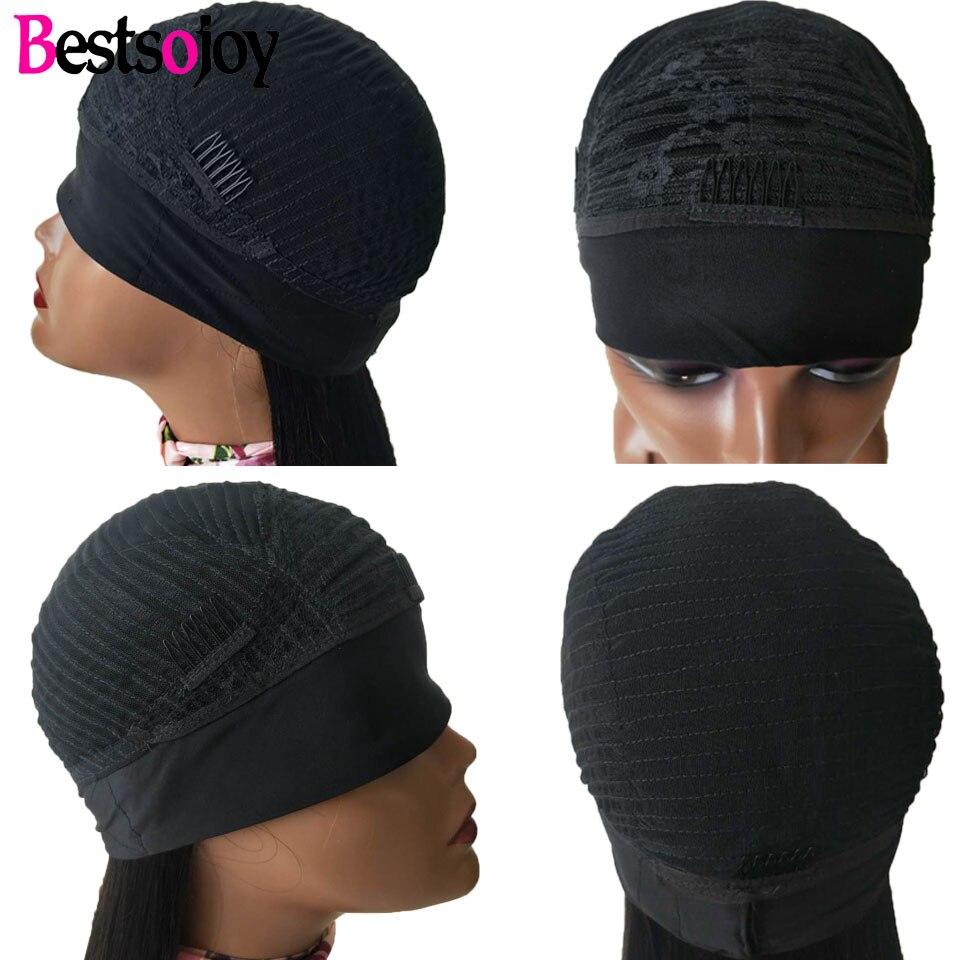 Bestsojoy Body Wave Headband Wig Brazilian Remy Human Hair Wigs For Black Women Glueless Full Machine Made Wig With Headband