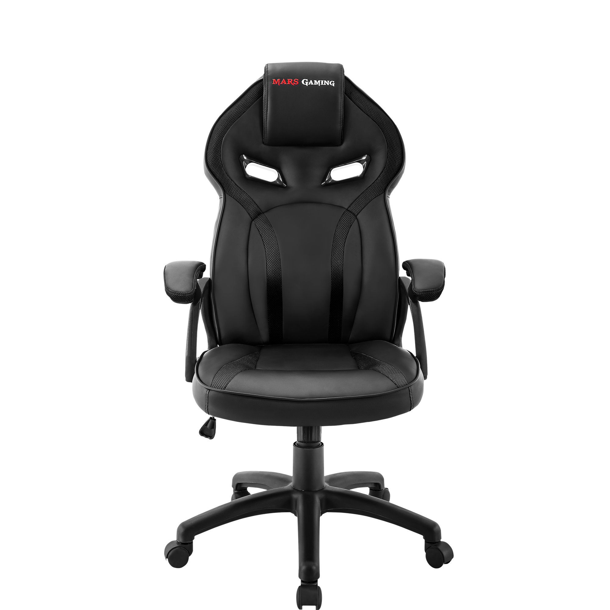 Mars Gaming MGC118, Gaming Chair, Tilt And High Altitude Dimmable, Black