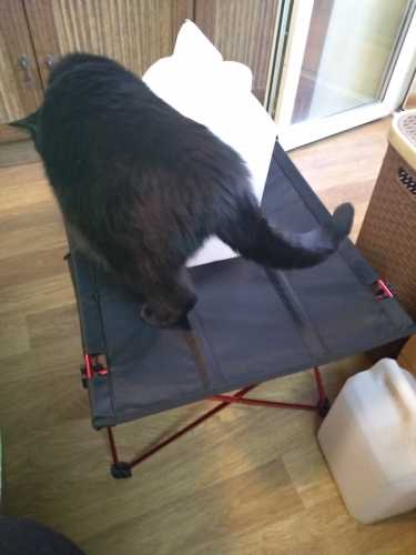 Где купить Сверхлегкий складной стол из алюминиевого сплава, маленький размер, портативный складной стол для кемпинга, пикника