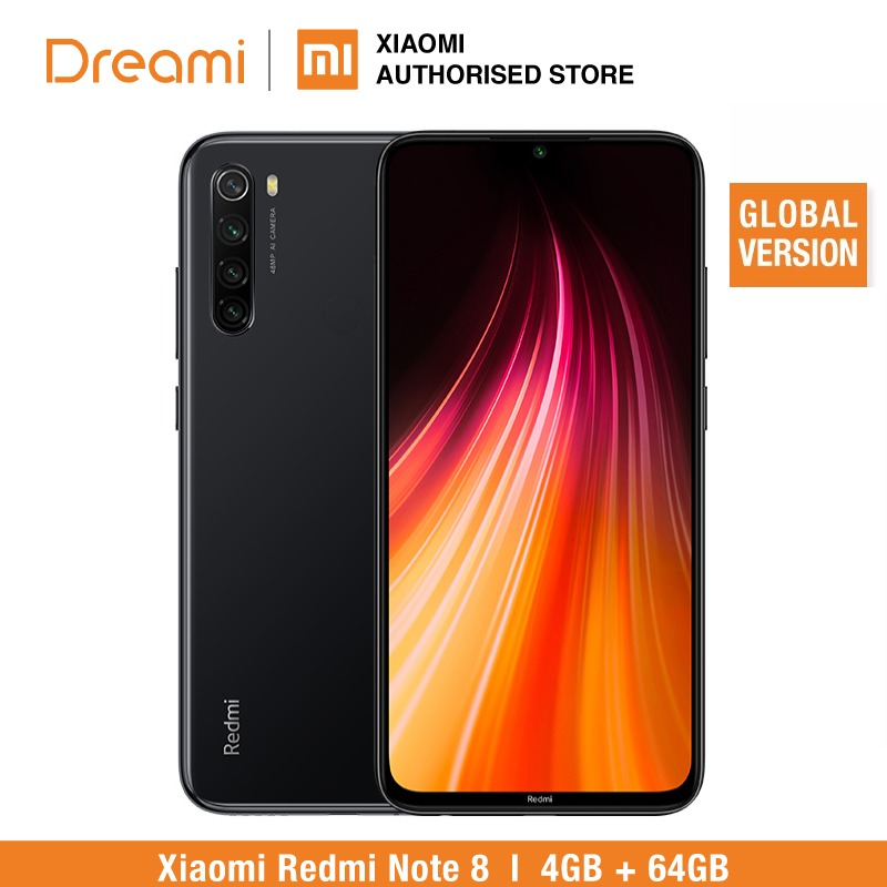 Global Version Redmi Note 8 64GB ROM 4GB RAM (Brand New And Sealed), Note8 64gb