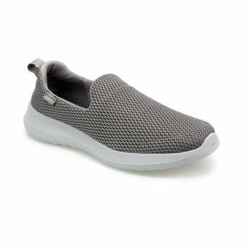FLO FURY grey wygodne buty męskie KINETIX tanie i dobre opinie Sztuczna skóra