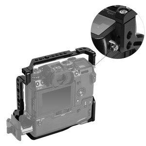 """Image 5 - Jaula SmallRig para cámara Fujifilm X H1 VPB XH1 con empuñadura de batería/rieles NATO integrados/Arri 3/8 """"puntos de localización 2124"""