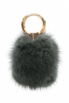 Finn Flare Key Chain Pompom Keychain Women's Bags Key Ring Handmade Accrssories Keychains Pendants Charming Suspension Decoration Jewelry Accessories For Women Cute Soft Faux Rex Rabbit Fur Ball Fashion