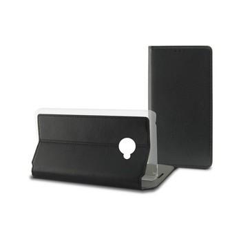 Pokrowiec na telefon komórkowy Huawei Y7 Contact Slim czarny tekstylny poliwęglan tanie i dobre opinie