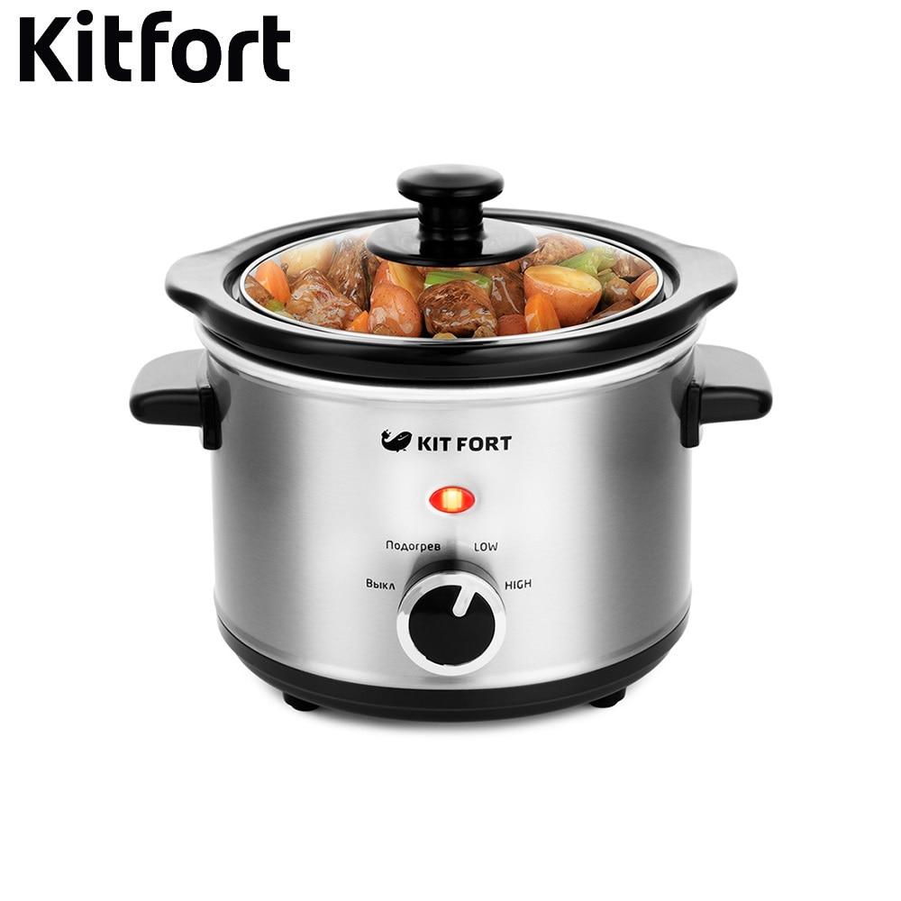 цена на Slow cooker KT-205 power 120W Multivarka Electric Multivarki Pressure Cooker Electric casserole Household appliances for kitchen