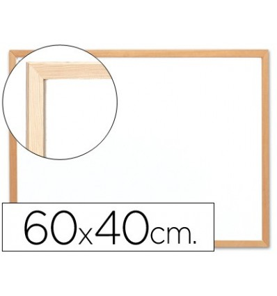 SLATE WHITE Q-CONNECT MELAMINE MARCO WOOD 'S 60X40 CM