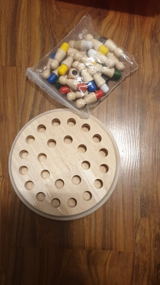 Wooden Color Matching Game photo review