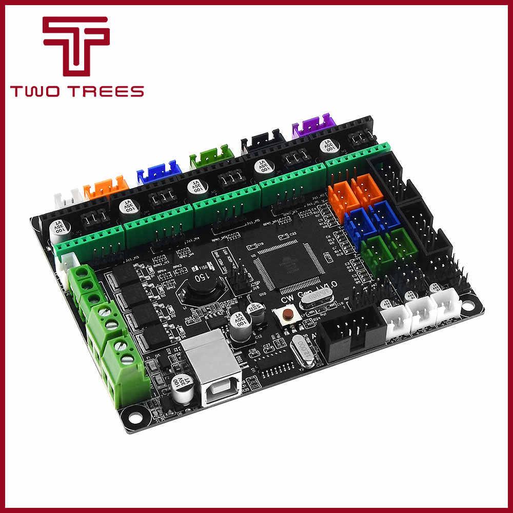 Controller Papan PCB MKS Gen L V1.0 Terintegrasi Mainboard Kompatibel Ramps1.4/Mega2560 R3 Dukungan A4988/DRV8825/TMC2100 /TMC2208