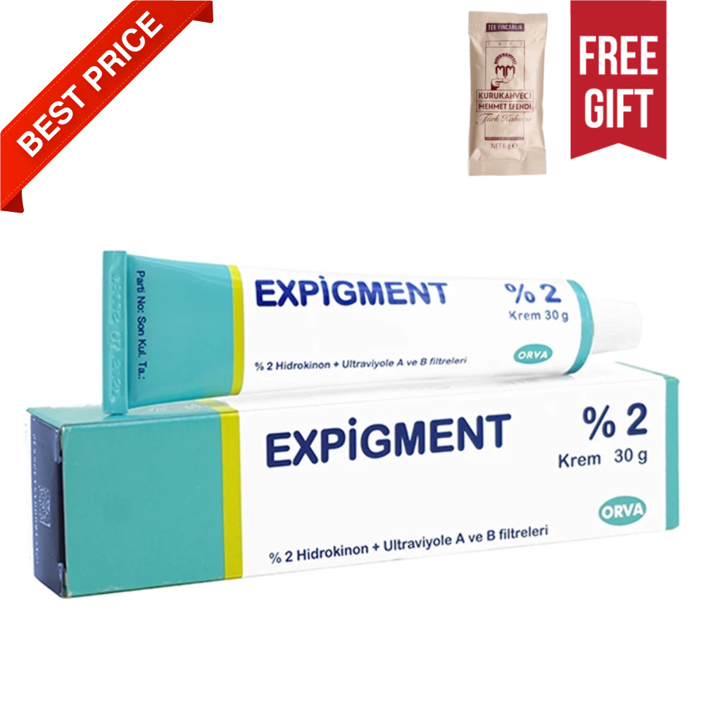 Expigment 30g 1oz Hydroquinone 2% Cream For Skin Bleaching Skin Lightening Whitening Skin Melasma Treatment