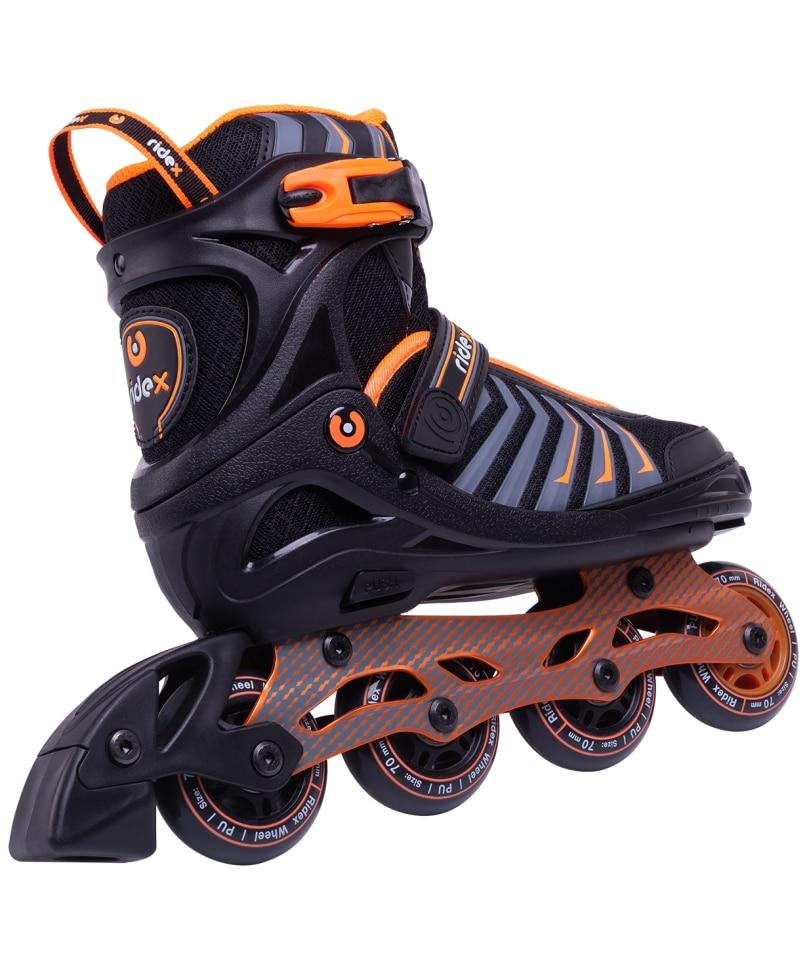Roller Skates Sliding Ridex Thanos Orange, Alum. Rama