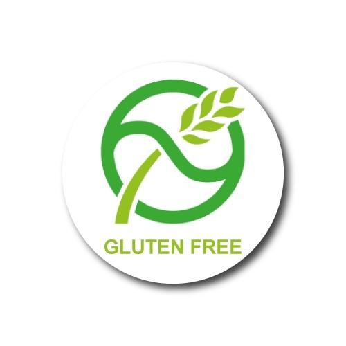 Gluten Free Sticker Sticker 3x3 Cm 20li
