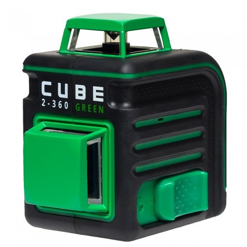 Laser level automatic ADA Cube 2-360 Green Professional Edition (Horizontal line 360 °, vertical 360 °, automatic laser level ada cube basic edition