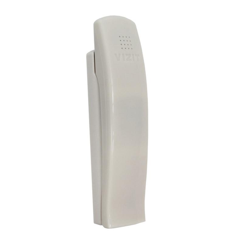 Трубка домофона Визит УКП-7 (VIZIT UKP-7). Квартирная трубка для подъездного координатного домофона. Регулировка громкости.