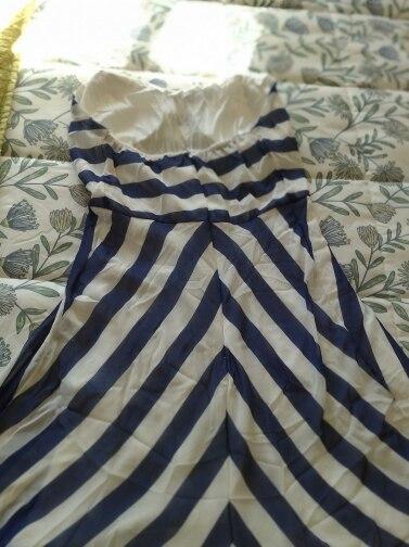 Striped Beach Dress Women Off Shoulder Party Long Maxi Dress Sundress Sexy Sleeveless Backless Summer Dress Vestidos reviews №2 915595