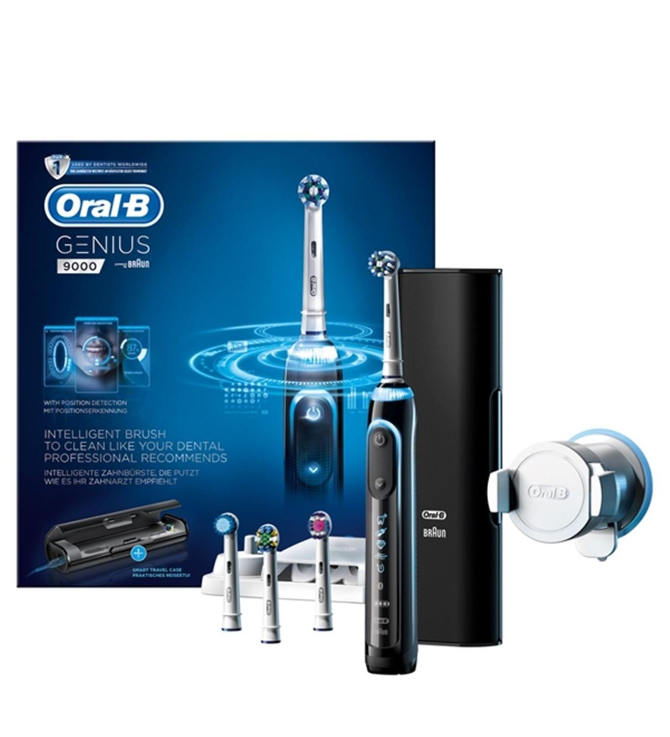 ORAL-B GENIUS 9000 Electric Toothbrush Braun NEW IN THE BOX EU PLUG 220-240V image