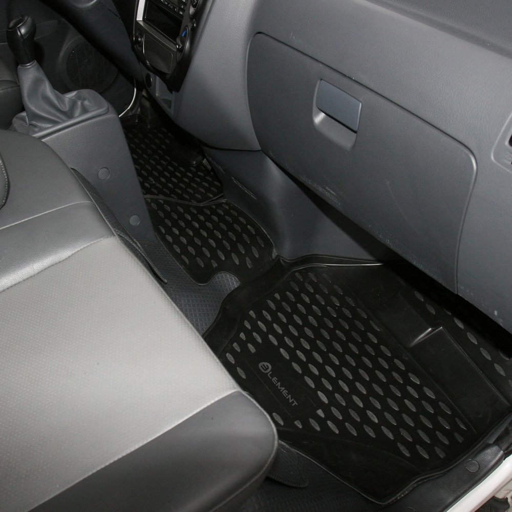 Floor Mats For KIA Bongo 3, 2011, 2 PCs NLC.25.39.210h