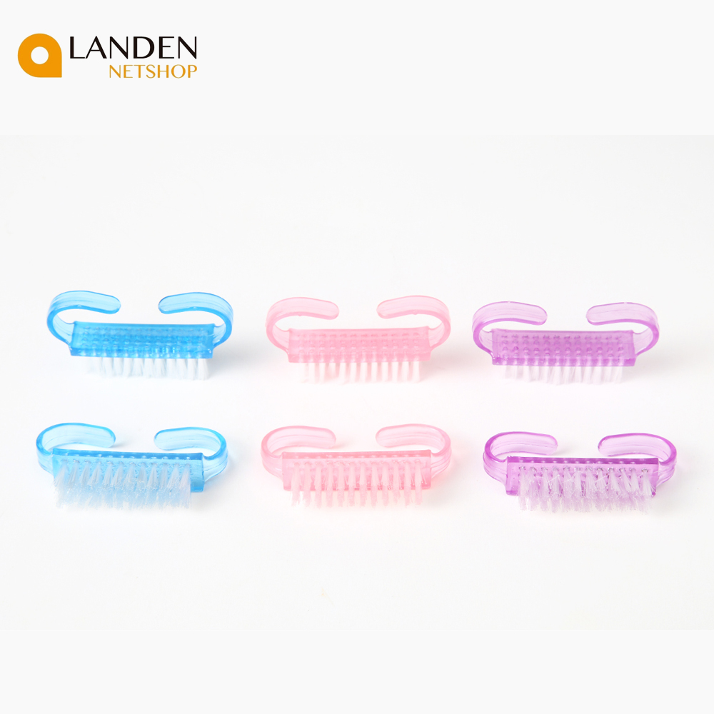 1PC Nail Cleaning Brush Remove The Dust From Plástic UV Gel Acrylic For Manicure And Art Nail Care Fixture