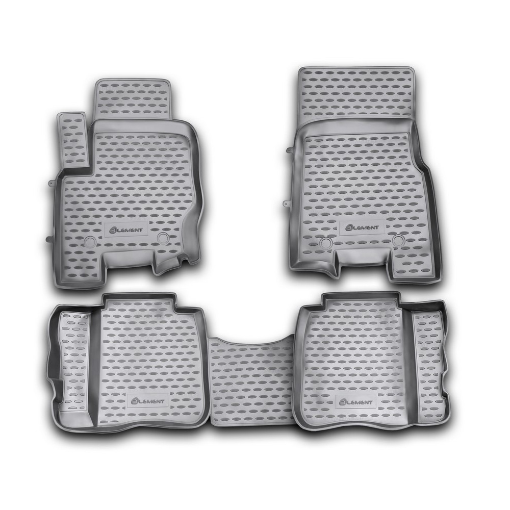 Floor Mats For TAGAZ Tager 06/2008, 4 PCs NLC.77.01.210